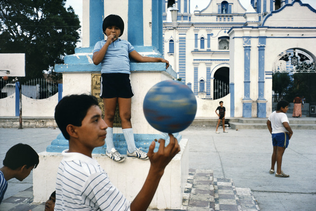 , 'Children playing in a courtyard. Oaxaca state. Tehuantepec. MEXICO,' 1985, Magnum Photos