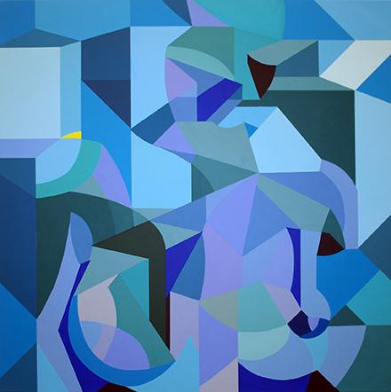, 'Behind Blue,' 2016, Kreislerart