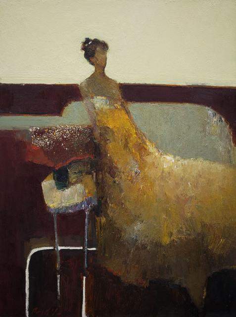 , 'Gold Dress,' 2015, Sue Greenwood Fine Art