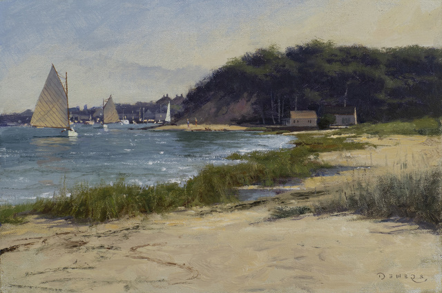 Donald W. Demers, 'Chatham Tranquility', 21st Century, Painting, Oil on mounted linen, Vose Galleries