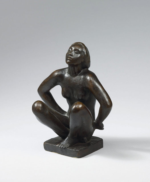 , 'Kauernde,' 1917, Ludorff