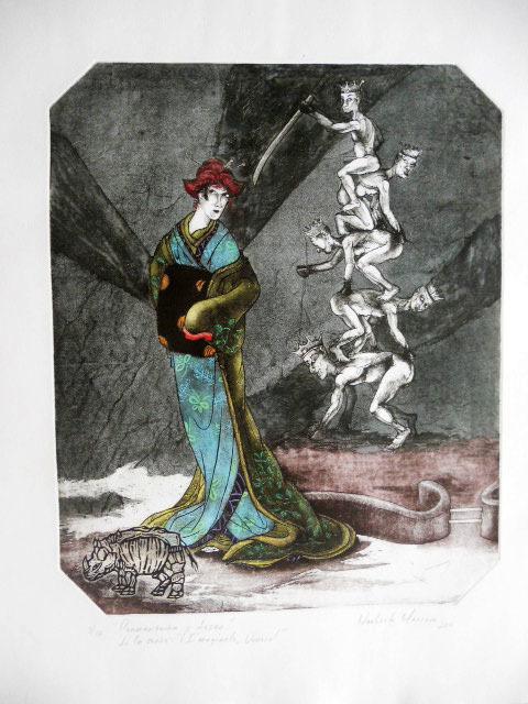 """, 'Deseo y superación del amor"""" de la serie Imagínate Durero,' 2011, Imlay Gallery"""