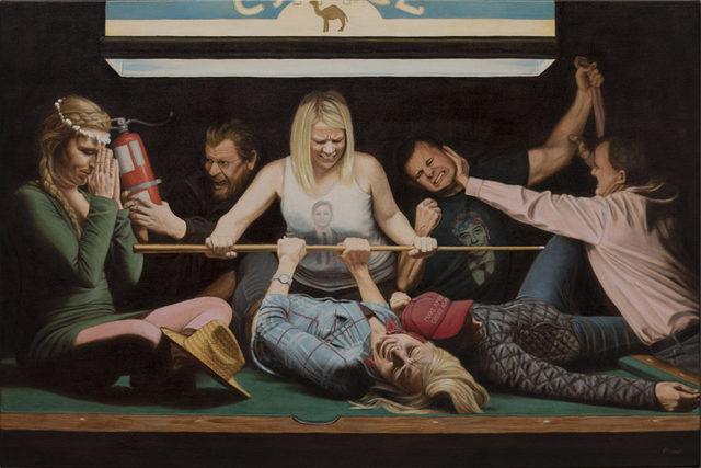 Jen Brown, 'An Allegory of Facebook', 2017, The Secret Gallery