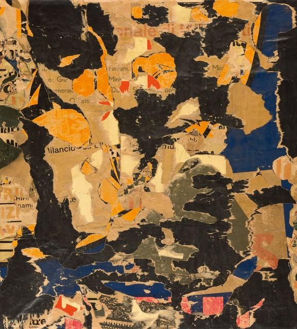 Mimmo Rotella, 'Senza titolo,', ca. 1960, Robilant + Voena