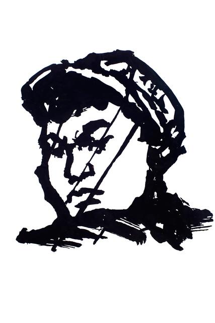 , 'Head (Chinese Man II),' 2016, Goodman Gallery