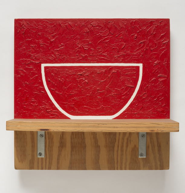, 'Red Bowl,' 1988, Stuart & Co. Gallery