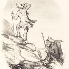 Honoré Daumier, 'Aperçois-tu un lieu civilisé...', 1849, National Gallery of Art, Washington, D.C.