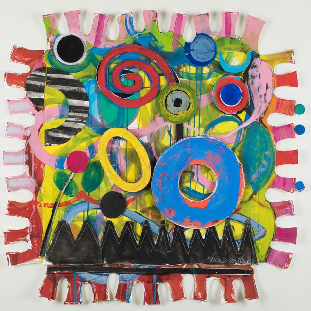 , 'Squares With Borders Set I #39,' 2016, Jacob Babchuk Gallery