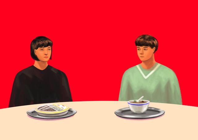 Kanith, 'Dining conversation 02', 2017, Gallery LVS