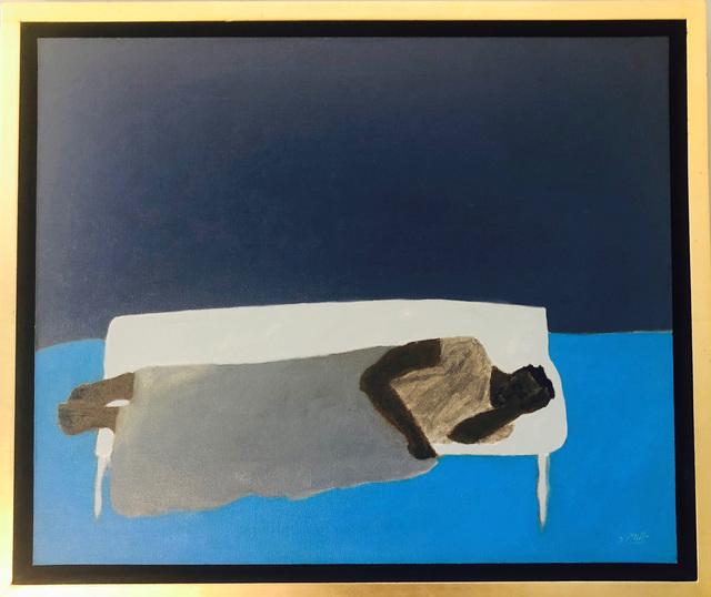 , 'Park Bench/ A Blue Place To Rest,' , Emmanuelle G Gallery