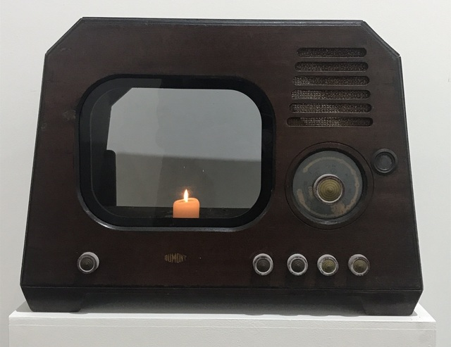 , 'TV Candle,' 1996, Galerie Bhak
