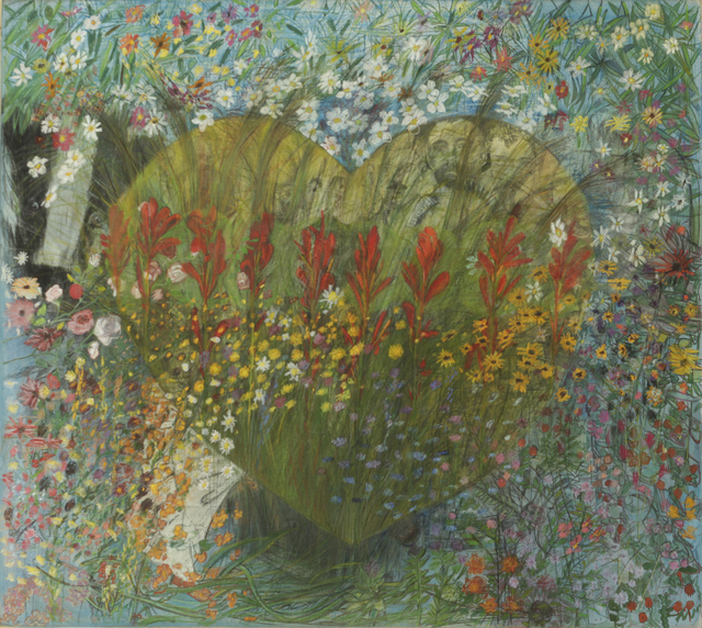 , 'Heart (The Garden of Solstice Secrets series),' 2018, Drina Gallery