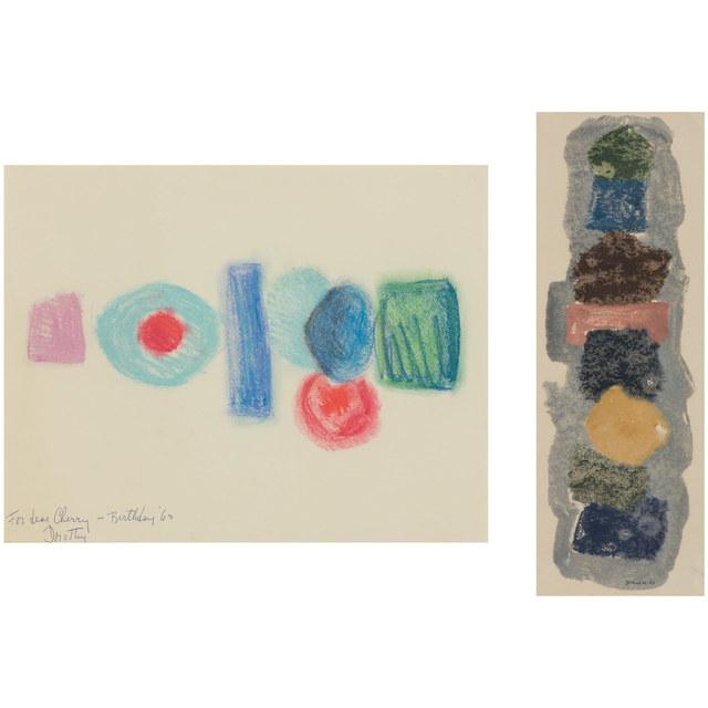 Dorothy Dehner, '(i) Untitled (ii) Untitled', 1963, Doyle