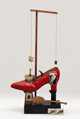 Salvador Dalí, 'Objet Surréaliste à fonctionnement symbolique—le soulier de Gala (Surrealist object that functions symbolically—Gala's Shoe)', 1932/1975, San Francisco Museum of Modern Art (SFMOMA)