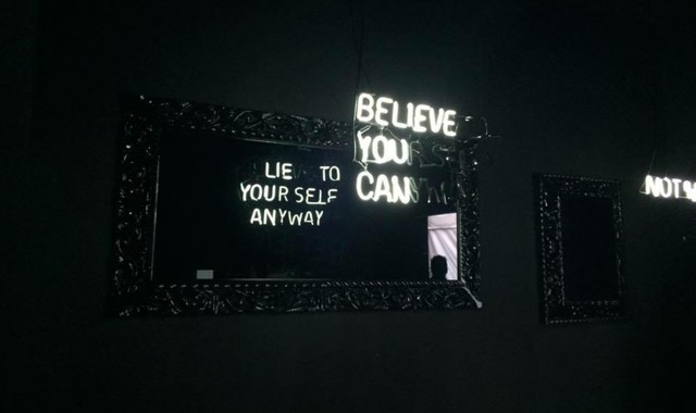 , 'Believe You Can / Lie to Yourself Anyway,' 2015, Avant Gallery