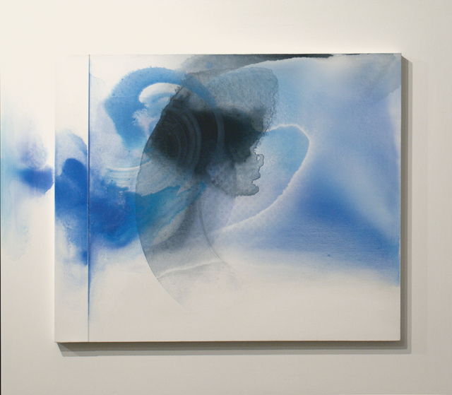 , 'White Relief / Blue Version,' 2011, Bernard Jacobson Gallery
