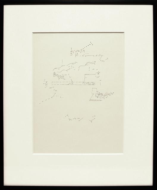 , 'MUSIC,' 1962, Anglim Gilbert Gallery