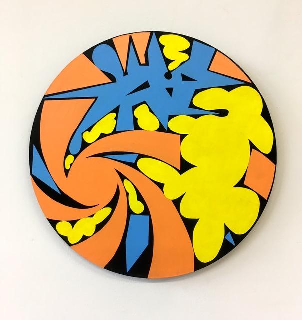 , 'Small Tondo (Aspects of Sky),' 2017, 440 Gallery