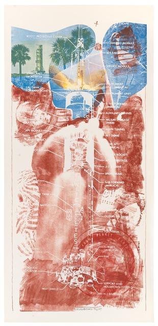 Robert Rauschenberg, 'Sky Garden (Stoned Moon)', 1969, Print, Lithograph and screen print, San Francisco Museum of Modern Art (SFMOMA)