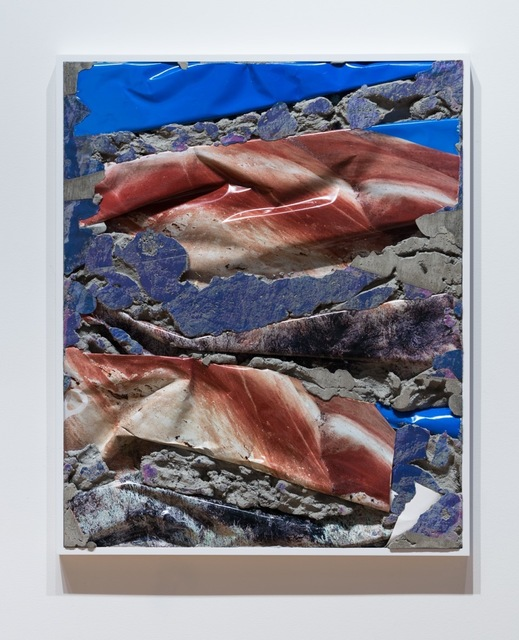 , 'Painted Hills Concrete Bend (Red White Blue),' 2017, GRIMM