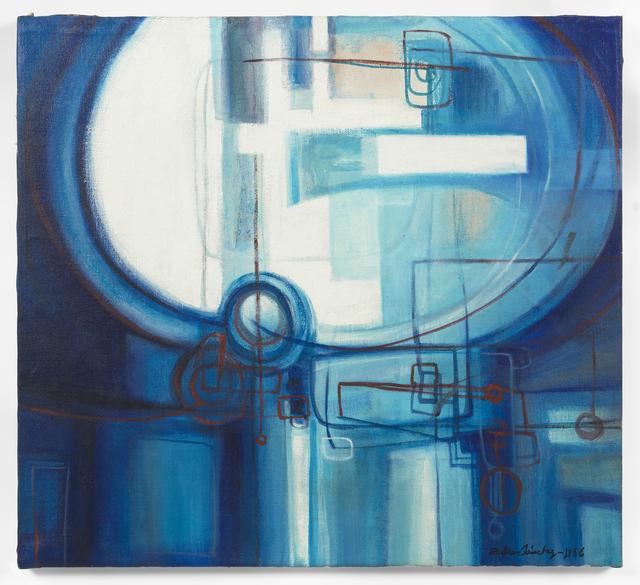 , 'Azul Azul (Blue Blue),' 1956, Galerie Lelong & Co.
