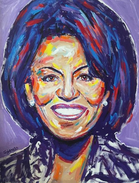 , 'Michelle Obama ,' , Artist's Proof