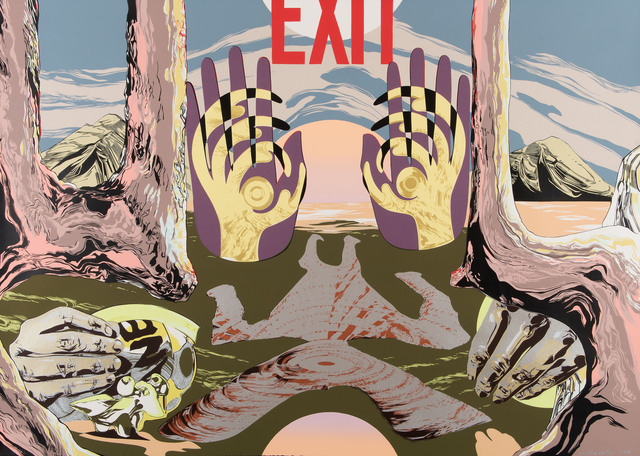 Andrea Carlson, 'Exit', 2018, Highpoint Editions