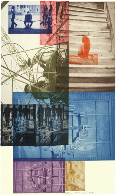 Robert Rauschenberg, 'Soviet/American Array III', 1990, Universal Limited Art Editions