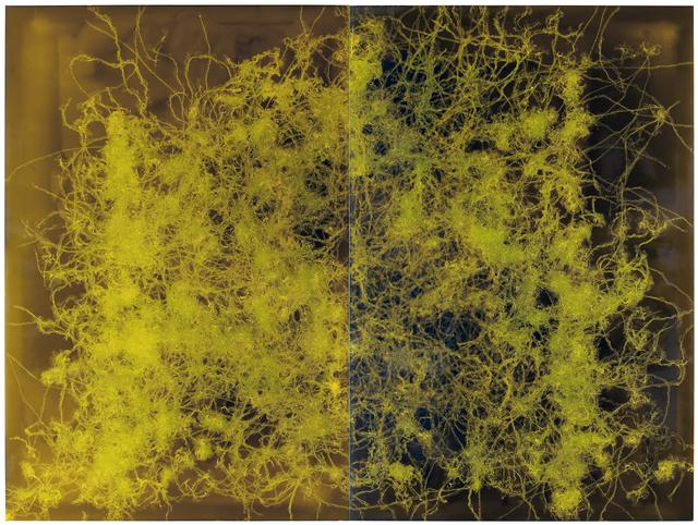 , 'Painting of worms (FP030),' 2015, Matthew Liu Fine Arts