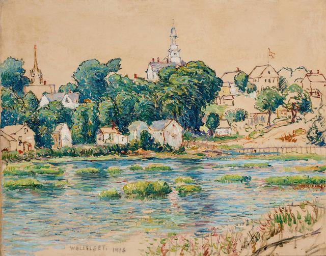Reynolds Beal, 'Wellfleet', 1916, Doyle
