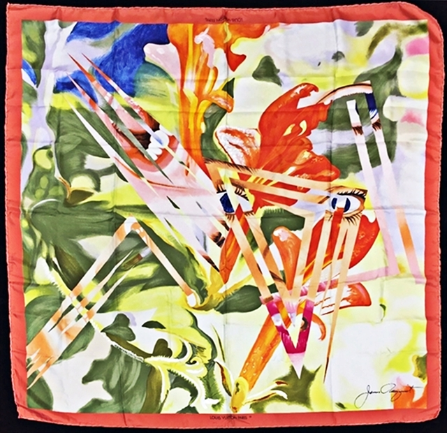 , 'Limited Edition Vintage Louis Vuitton Silk Scarf ,' 1987, Alpha 137 Gallery