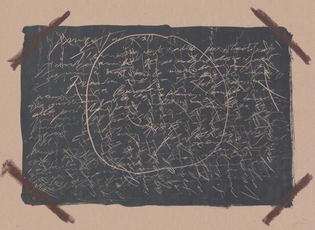 Antoni Tàpies, 'Llambrec material XVI', 1970-1980, ARTEDIO