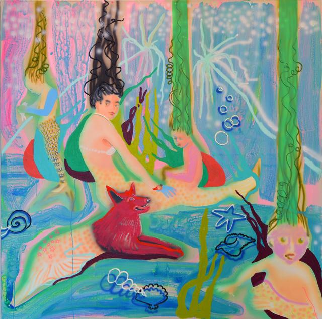 , 'Mermaiding,' 2017, Allouche Gallery