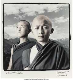 Namgyal, 13 and Thuman, 16, Dharmsala, India