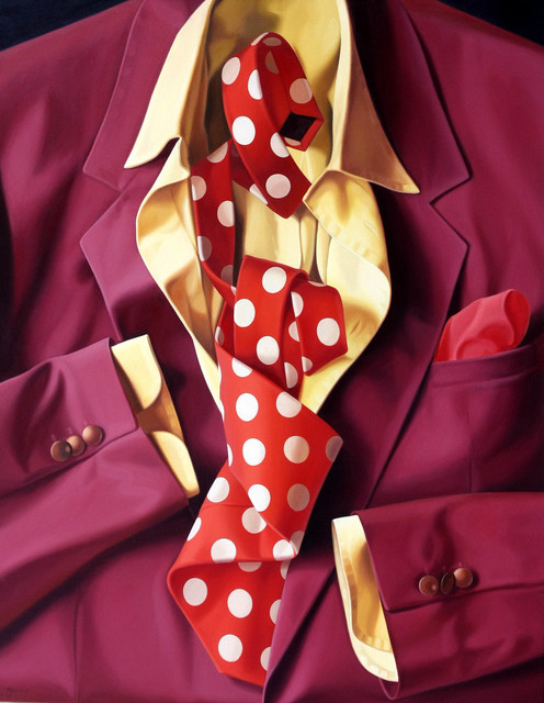 , 'Red jacket,' 2011, Galleria Punto Sull'Arte