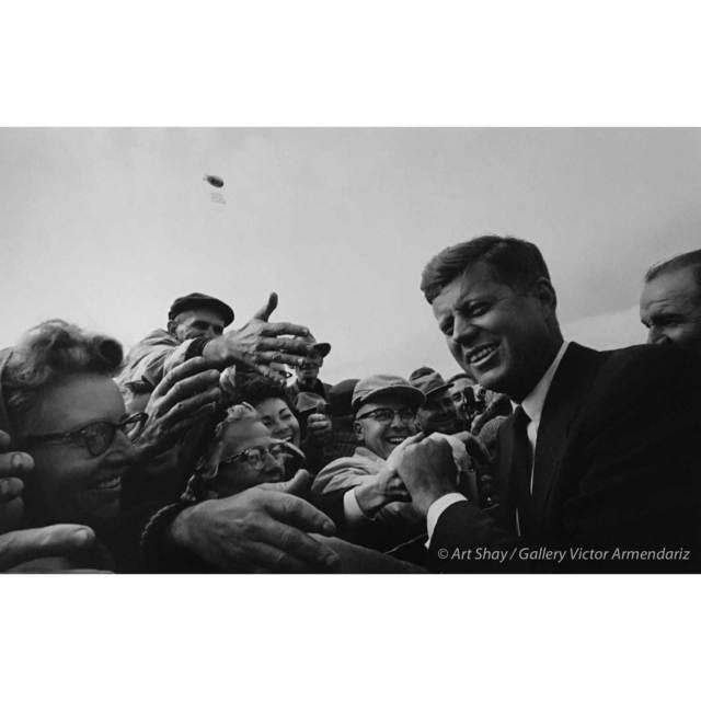 , 'Friendly SD Crowd for JFK, 1960,' 2017, Gallery Victor Armendariz
