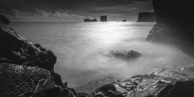 , 'A Dark Coast I - Secret Cove, Vík, Iceland, 2013,' 2013, Catherine Couturier Gallery
