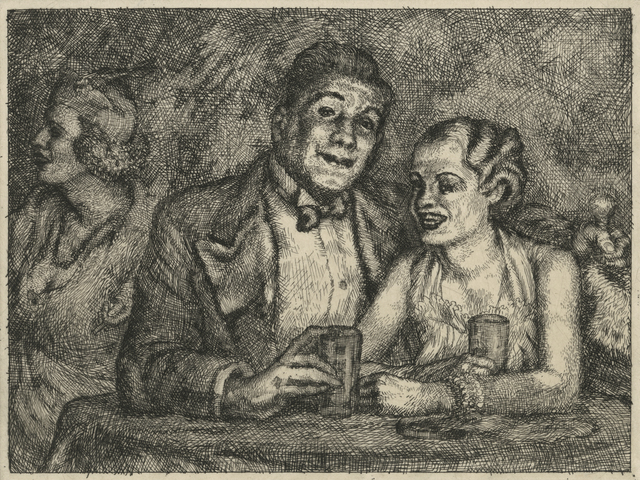 , 'The Prizefighter and the Lady,' ca. 1936, Childs Gallery