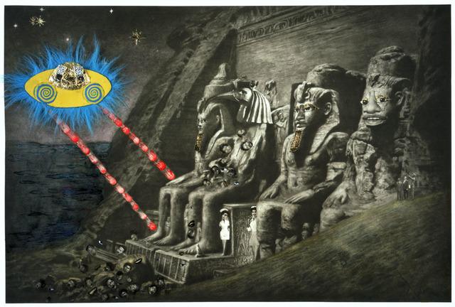 , 'Abu Simbel,' 2005, Two Palms