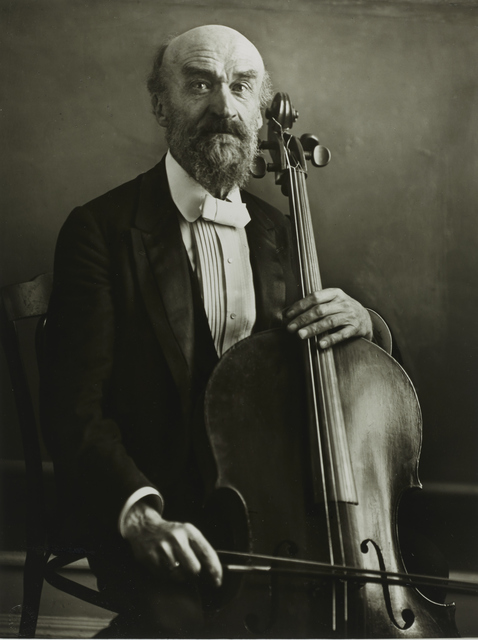 , 'Cellist [Julius Klengel],' 1921, Galerie Julian Sander