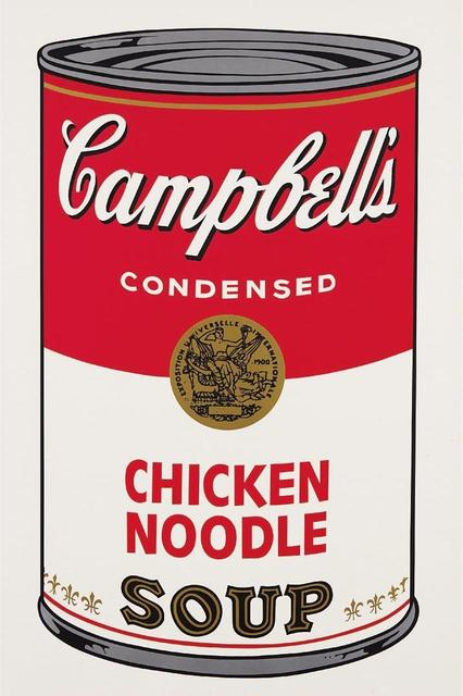 Andy Warhol, 'Campbell's Soup Chicken Noodle ', 1968, OSME Fine Art