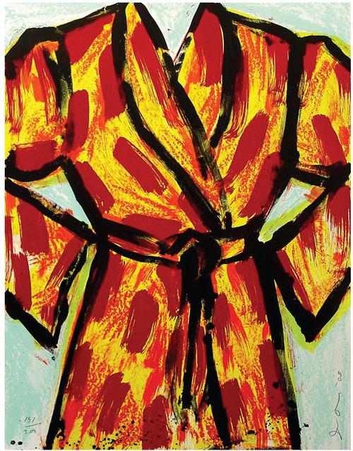 , 'Black Ink Robe,' 2005, Zane Bennett Contemporary Art
