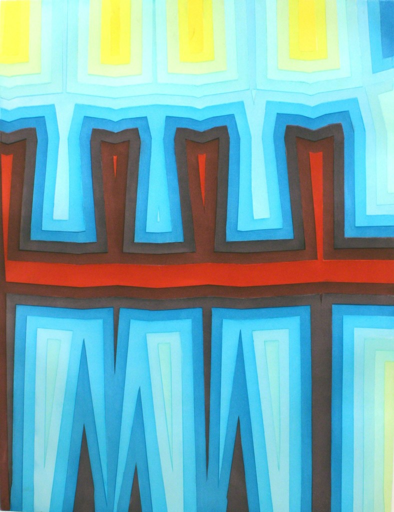 Tauba Auerbach, 'Fold/Slice Topo 1,' 2011, Addison/Ripley Fine Art