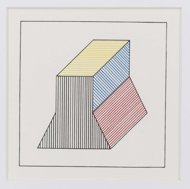 Sol LeWitt, 'Twelve forms derived from a cube (1)', 1984, Invertirenarte.es
