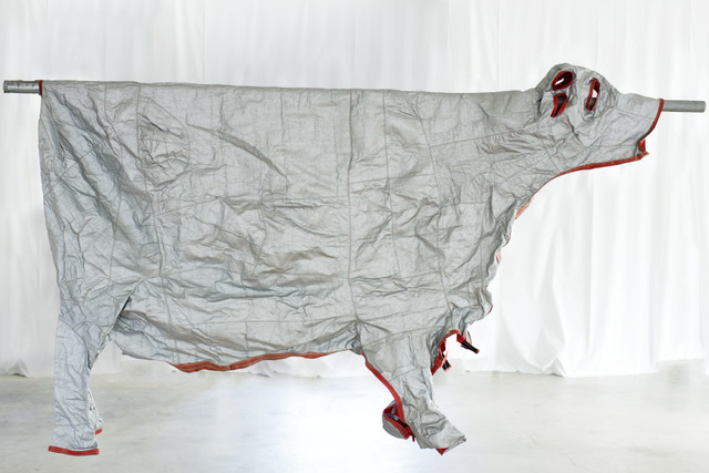 Ulf Rollof, 'Skyddsdräkt för ko', 1989, Sculpture, Mixed media, Galleri Andersson/Sandstrom