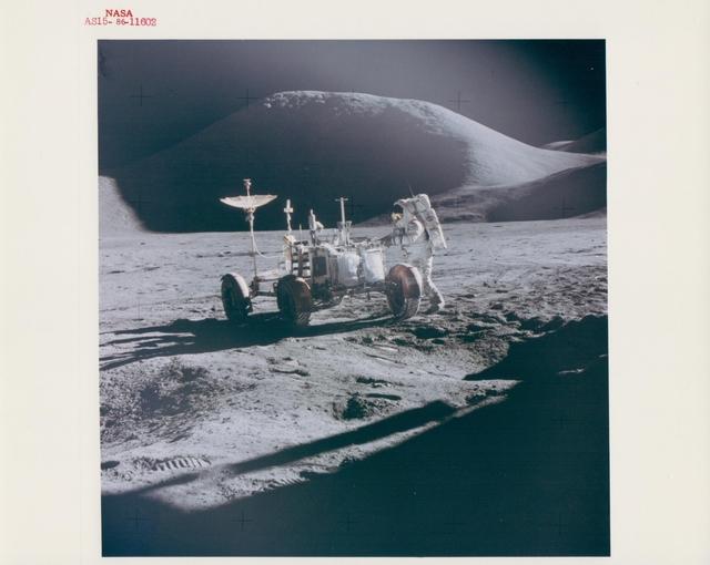 , 'James Irwin and the Lunar Rover, Apollo 15, August 1971,' , Attollo Art