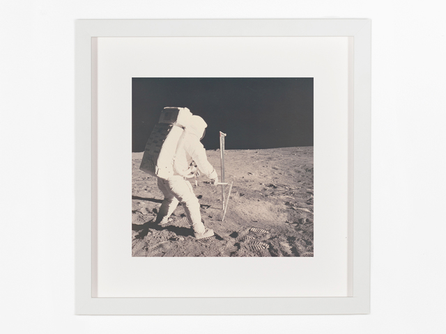 Neil Armstrong, 'Aldrin driving in core tube', 1969, Patrick Parrish Gallery