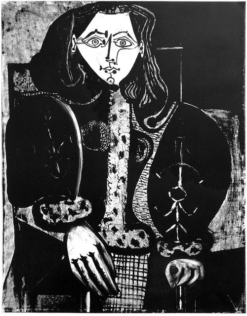 , 'Femme au Fauteuil No. 1 (d'après le rouge),' 1949, John Szoke