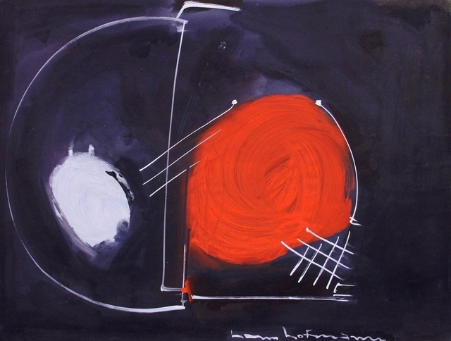 Hans Hofmann, 'Untitled (Red, black, white)', 1946, Elizabeth Clement Fine Art