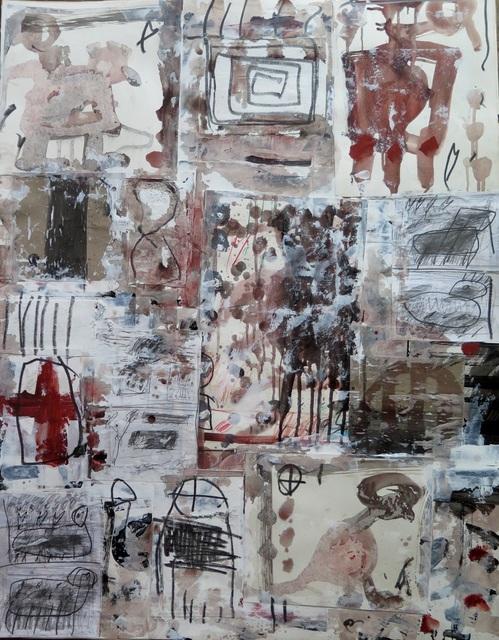 , 'Collage V,' 2015, Spotte Art